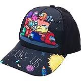 Tomicy Gorra de béisbol Infantil, Among Us Niños Gorra Visera Plana,Cool Moda Sombrero de Sol Al Aire Libre, Ajustable Unisex