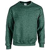 Gildan - Heavy Blend Sweatshirt - bis Gr. 5XL / Heather Sport Dark Green, XL