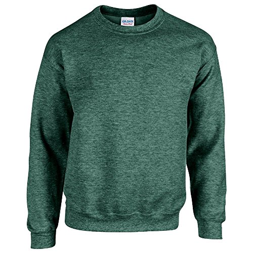 Gildan - Heavy Blend Sweatshirt - S, M, L, XL, XXL, 3XL, 4XL, 5XL /Heather Sport Dark Green, S - Heather Dark Green