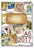 Chäff Family-Timer 2017  - Der Familien-Planer! 12 Monate Jan - Dez 2017
