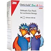 3M Opticlude Orthoptic Eye Patch 5cm*6.2cm 1537/20 Box of 20