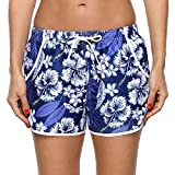 Best Board Shorts - Charmo Women's Solid Floral Swim Board Shorts Workout Review
