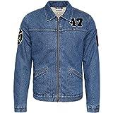 Wrangler Herren Jeansjacke Jacke blau blau Gr. X-Large, blau