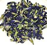 Organic Dried Butterfly Pea 50 G /Blue Tea Thailand by OTOP Thai
