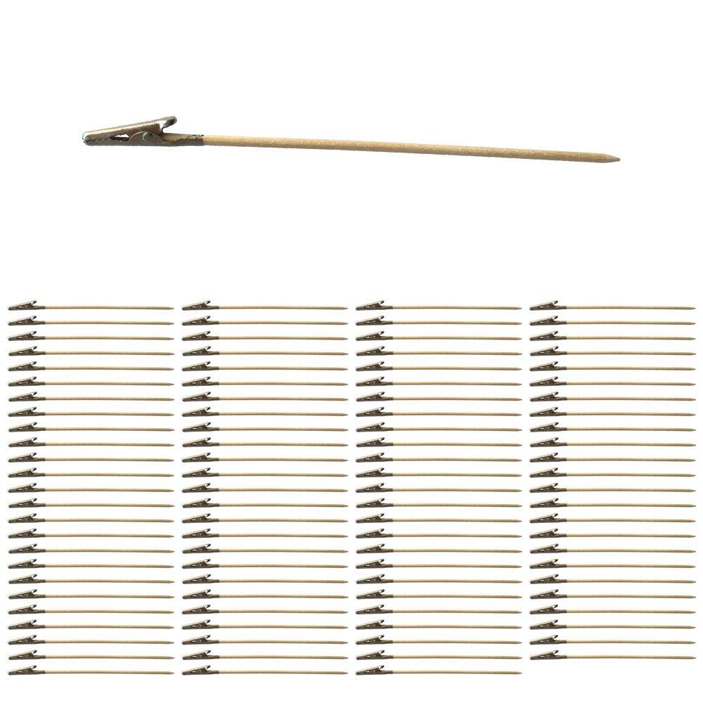 100�pezzi Clip con Bastone EX219�per decorazioni e artigianato