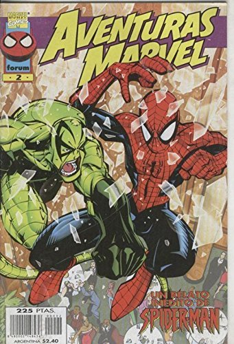 Aventuras Marvel numero 02: Spiderman
