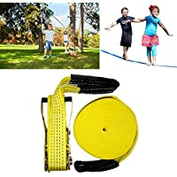 ShopSquare64 Slackline 15,2 m Outdoor Extreme Sport Sport Sport Balance Trainer Slackline Rope Sling Bambini Adulti | acquisto speciale  | Materiali Di Qualità Superiore  | Consegna veloce  b6e6da