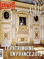 Connaissance des Arts, Hors-série N° 591 : Le Patrimoine en France 2013