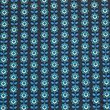 MAGAM-Stoffe Blümchen Emily blau Baumwollstoff Meterware