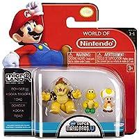 Nintendo - Figura Bowser, Koopa Troopa, Toad, 2 cm