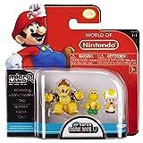 Mario Bros U Micro Figure 3 Pack - Bowser/Koopa/Toad Mario Bros U Micro Figura 3 Pack - Bowser / Koopa / Toad