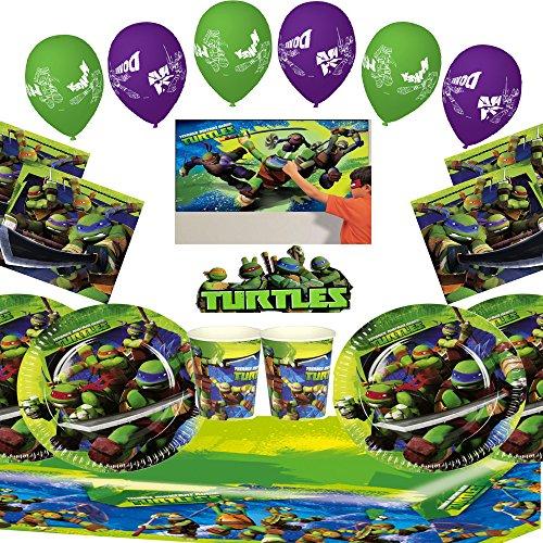 Teenage Mutant Ninja Turtles ultimativen Party-Set für 16