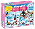 Playmobil 9008 Advent Calendar 'Royal Ice Skating Trip' with a Children's Bracelet