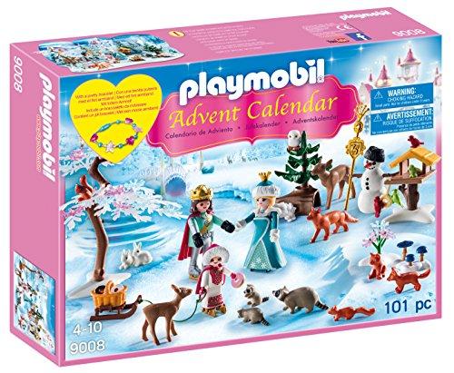 Playmobil Calendario de adviento Patinaje Sobre Hielo (9008)