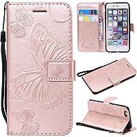 Kucosy iPhone 6Funda Protectora de Cuero, iPhone 6S Funda de Piel,