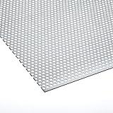 Lochblech Verzinkt RV 5-8 Stahl Verzink 1,0 mm Zuschnitt individuell auf Maß NEU günstig (1000 mm x 400 mm)