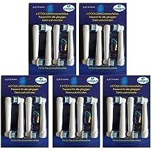 Pack de cabezales de repuesto para cepillos de dientes eléctricos Braun Oral -B EB17-4, compatibles con Oral-B Vitality Precision Clean, White Clean, ...