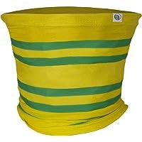 fan originals Snood Neck Scarf - Yellow Green Norwich City Colours