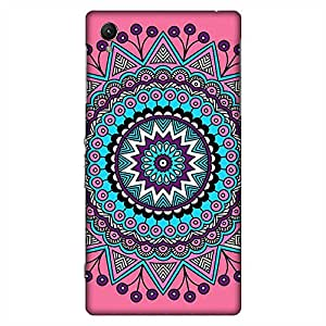 Bhishoom Printed Hard Back Case Cover for Sony Xperia Z1 L39H - Premium Quality Ultra Slim & Tough Protective Mobile Phone Case & Cover