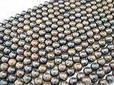 Green Forest Gems, DIY, Bronzite, Naturale, 6mm, Pietre Perlina di Gemma Semi Preziose, Tondo Liscio, Circa 38cm un Filo. (Bronzite, Natural, Plain Round Semi-precious Gemstone Bead) (Cliccate per vedere altre opzioni.)