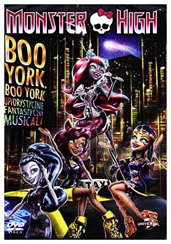 Monster High: Boo York, Boo York [DVD] [Region 2] (English audio. English subtitles) by Cam ()
