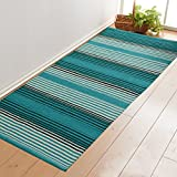 #1: Saral Home Cotton Multi Purpose Rugs- 70x140 cm