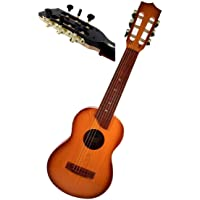 "ULTRAZON Big Size Classical Acoustic Guitar Toy with Tight Tune able Strings Brown Wood Finish (6 String 27"")"