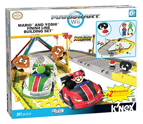 K'nex Mario And Yoshi Finish Line Building Set