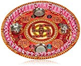 Ava Pooja Thali (Multicolour) (PT-SD-9)