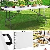 Klapptisch Buffettisch 182x76 Esstisch Garten Camping Tisch