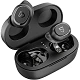 Wireless Earbuds SoundPEATS, TrueFree2 Bluetooth 5.0 Earphones In-Ear Stereo TWS Sports Headphones, IPX7 Waterproof, Customiz