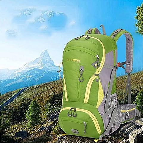 Inovey 45L Outdoor Mountaineering Backpack Rucksack Travel Shoulder Bag Sports Unisex Waterproof Pack