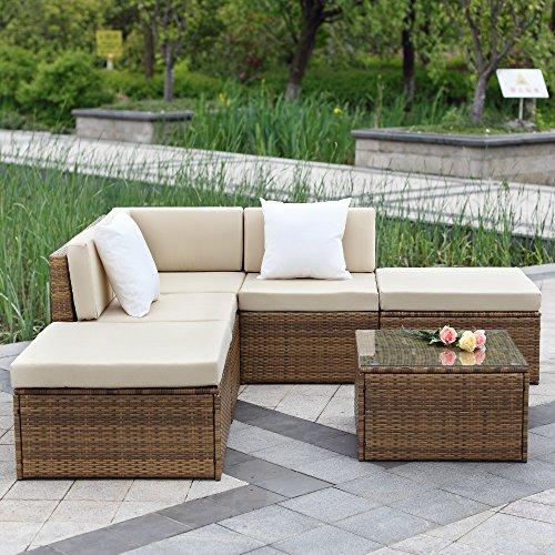 Divani da esterno e poltrone da giardino accessori per for Divano esterno legno