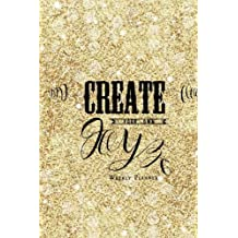 Weekly Planner: Gold Cover: The Best Student Diary, Get things done, Weekly Planner, Goals journal, Reflection diary, priority list with motivational quotes, 52 weeks,  6x9
