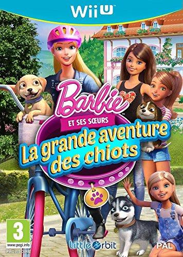 BARBIE ET SES SOEURS PUPPY RESCUE WII U FR Barbie Wii