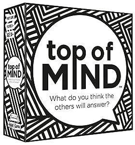 Top of mind Parte Superior de Mente 21057¿Qué Crees Que los demás te Respuesta Tarjeta Juego