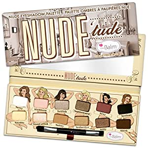 The Balm Nude'Tude Palette Naughty 12 Shades 0.382 Ounce