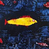 1art1 60507 Paul Klee - Der Goldene Fisch, 1925 Poster Kunstdruck 70 x 70 cm