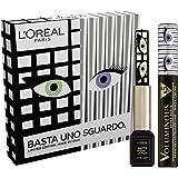 L'Oréal Paris Kit Make Up Occhi Edizione Limitata Basta uno Sguardo, Cofanetto Occhi con Mascara Volumizzante e Allungante +