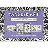 Tangled Art Blank Notecards & Envelopes