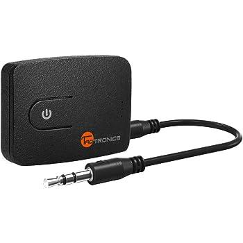 Trasmettitore Bluetooth, Taotronics trasmettitore wireless per TV con ingresso AUX da 3.5mm e USB Dongle (, Plug and Play stereo ad alta fedeltà tramite USB o, durante la riproduzione di ricarica per TV & iPod)