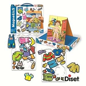 Diset - 63251 - Jeu de société - Jeu éducatif - Les Habits