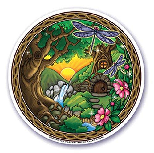 mandala-arte-colorido-adhesivo-decorativo-para-ventana-45-doble-cara-bosque-encantado-por-bryon-alle
