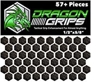 Dragon Grips Hexagon Decal Sticker Set of 57 Pieces 1/2 inch Wide 5/8 Point to Point for Phone Grip Stickers M