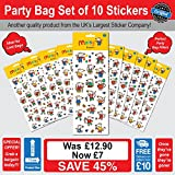Maisy Stickers Party Bag Set of 10