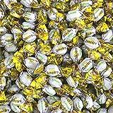 Caramelle Zenzero e Limone Essentia Mangini Kg 1 - Caramelle Piccole Dure con Morbido Ripieno di Marmellata di Limone