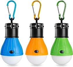 Eletorot Campinglampe LED Camping Laterne Tragbare Zeltlampe Laterne Glühbirne Set-Notlicht COB150 Lumen Camping Licht