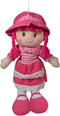 Ultra Cute Hugging Baby Doll Soft Toy Pink 14 inches