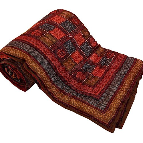 Handcraftd Pure Cotton Jaipuri Razai / Rajai Traditional Sanganeri Print Double Bed...