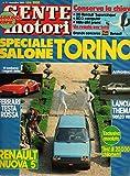 Scarica Libro Gente Motori 11 novembre 1984 Renault 5 Lancia Thema (PDF,EPUB,MOBI) Online Italiano Gratis